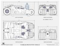 Tumbler Batmobile Blueprint