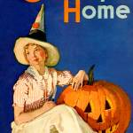 """Vintage Country Home Magazine Cover Art"" by artfolio"