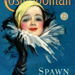 """Vintage Cosmopolitan Magazine Cover Art"" by artfolio"