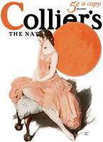 Vintage Collier's Magazine Cover Art