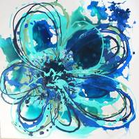 Blue Abstract Splash