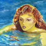 """""""Female Swimmer"""" by Lenora"""