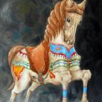 """Carousel Horse"" by mydimensionalcanvas"