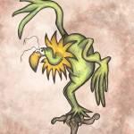 """Sunflower Bird"" by robincrossman"