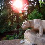 """Nittany Lion at Sunset"" by williamames"