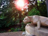 Nittany Lion at Sunset