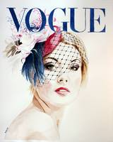 Vogue. Hat by Ella Gajewska