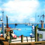 """""""Commercial FIshing"""" by ginacormier"""