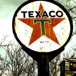 """Vintage Signs - Texaco"" by crystalliora"