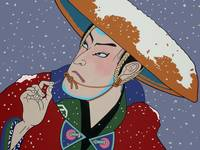 Kabuki in the Snow