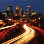 """Minneapolis Skyline"" by Trailheads"