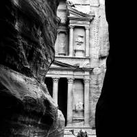 Jordan Petra Treasury Art Prints & Posters by Aforster