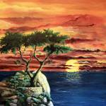 """""""Lone Cypress"""" by marypalmer"""