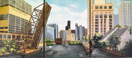 Chicago Skyline Triptych