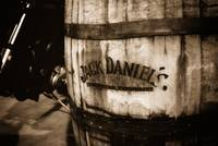 Jack Daniel's Whiskey Barrel: Sepia