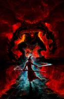Lord of The Rings - Balrog and Gandalf