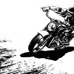 """The Crazy Biker"" by Comicbook"