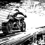 """Big Wheel on Speed"" by Comicbook"
