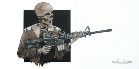 AR-15 Skeleton
