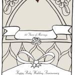 """""""Ruby Wedding Anniversary"""" by springwoodemedia"""