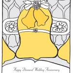 """Diamond Wedding Anniversary"" by springwoodemedia"