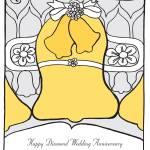 """Diamond Wedding Anniversary"" by springwoodemedia"