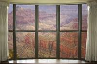 Grand Canyon North Rim bay Window View