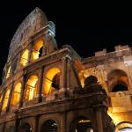 """Coliseum at Night"" by raetucker"