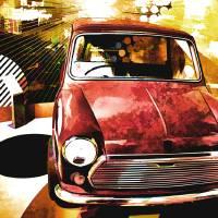 Retro Mini Dreams Art Prints & Posters by Anthony Michael Poynton