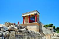 Archaeological site of Knossos. Minoan Palace. Cre