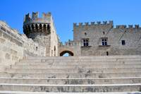 Palace of Grand Masters, Rhodes, Greece.