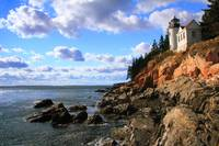 Bass Harbor Head Lighthouse Seascape