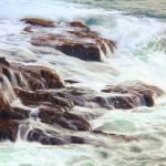 """Rocks awash in Atlantic Seas, Acadia National Park"" by RoupenBaker"