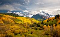 Mount Sneffels Of Colorado