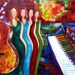 """""""Color of Music"""" by ArtlbyYelena"""