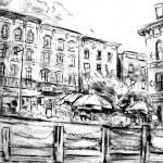 """Sketch of the Rondout"" by ralphnelsen"
