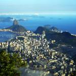 """Rio de Janeiro, Brazil. View from Corcorado."" by kookoodoll"