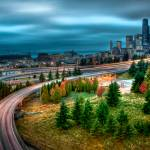 """Cloudy in Seattle (HDR)"" by ajwright"