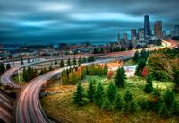 Cloudy in Seattle (HDR)