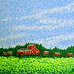 """Red Barn"" by alanhogan"