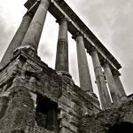 """Roman Temple of Saturn"" by raetucker"