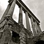 """Roman Temple of Saturn"" by raetucker"