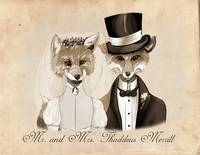 Mr. and Mrs. Thaddeus Merrill