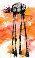 At-At Watercolor Attack