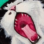 """Gabby Yawning"" by JenniferBernard"