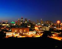 Kansas City Evening Skyline