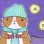 """Guinea-pig on a Cold Night"" by zoe"