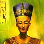 """Egyptian queen Nefertiti."" by khatsart"