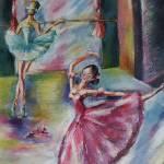 """dancing ballerinas"" by khatsart"