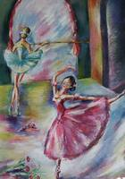 dancing ballerinas